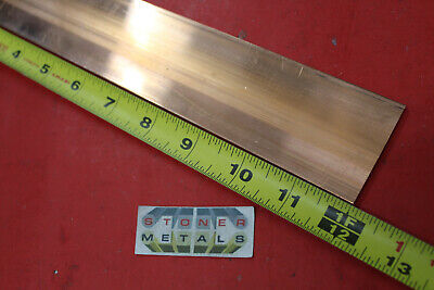 18 X 2 C110 Copper Bar 12 Long Solid Flat Mill Bus Bar Stock H02