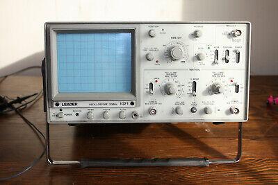 Leader Oscilloscope Model 1021