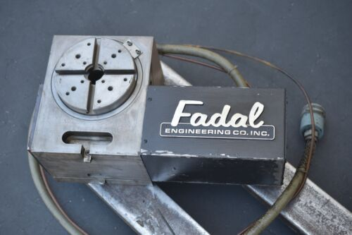 Fadal VH65 4th Axis Rotary table