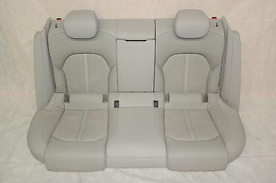 Audi A7 4g Leather Seats Leather Trim Seats Rear in Titanium Grey