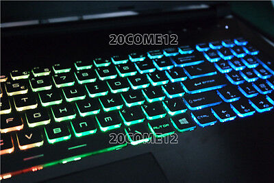 For MSI MS-16H5 MS-16H7 MS-16H8 MS-16K4 keyboard Color backl