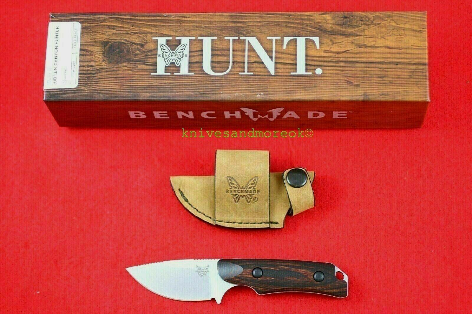 Benchmade Hidden Canyon Skinner Knife