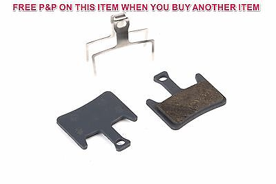 SELCOF SEMI METALLIC DISC BRAKE PADS FOR HAYES PRIME, REPLACEMENT PARTS, S-237 ()