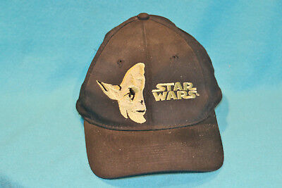 VINTAGE 1979 LUCAS FILM YODA STAR WARS- MAY THE FORCE BE WITH YOU- SNAP BACK HAT - Yoda Hat