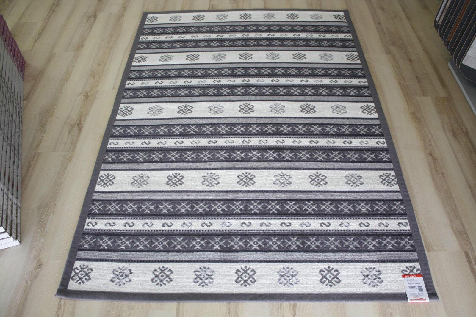 Rug Sch Ner Wohnen Pion 152 000 Stripes White 140x200 Cm