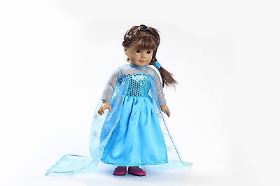 new fashion clothes dress for 18inch American girl doll party b121 on Rummage