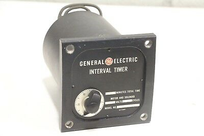 GE General Electric Interval Timer 3TSA20DM130 125V 30 Minutes Total