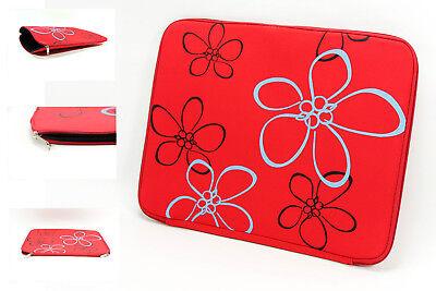 NEU Laptop  Laptoptasche Maße 42 x 32 cm  Notebooktasche 17 Zoll ROT Hülle