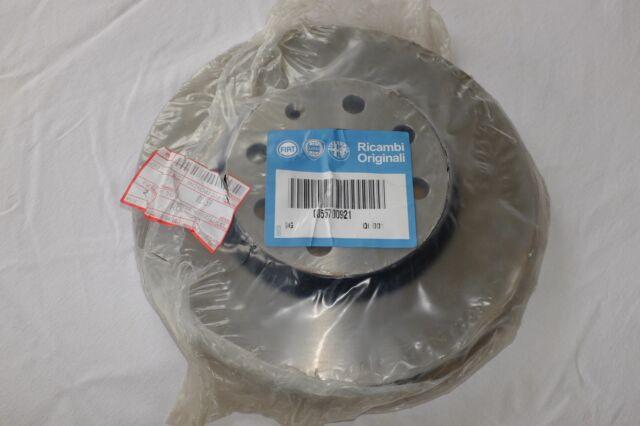 Brand New Pair Genuine Fiat Punto Grande Front Vented Brake Discs 55700921