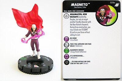 Heroclix - #023a Magneto - X-Men Xavier's School