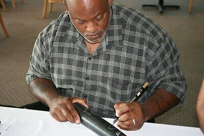 Cecil Fielder Signed Baseball Bat with Proof