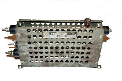 Vintage Rheostat Vs-240 30 Ohm Wire Manganin Nichrome Ussr Equipment Soviet 1964