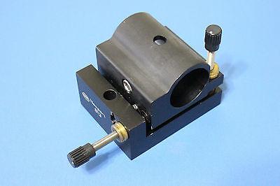 Newport 813 Adjustable Cylindrical Tube Hene Laser Mount Up To 1.5 Dia
