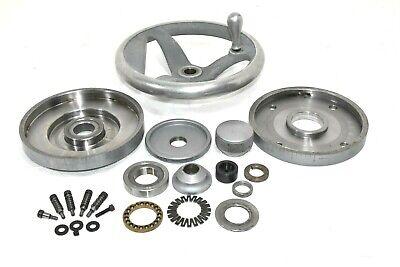Hand Wheel Crank From Moore Jig Boring Machine. 9.25 Diameter Wdegree Wheel