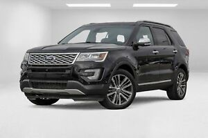 2017 Ford Explorer Platinum cuir toit navigation