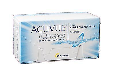 Acuvue Oasys with Hydraclear Plus 24er Box 2 Wochen KL Versand aus Deutschland