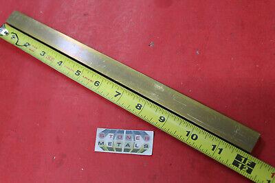38 X 34 C360 Brass Flat Bar 12 Long Solid Mill Stock H02 .375x .75x 12