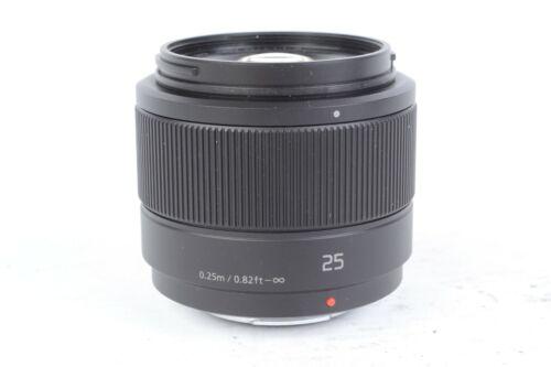 Panasonic Lumix G 25mm f/1.7 Lens Micro 4/3 Mount #J03476