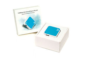 New 150Mbps Wireless Mini Nano Router USB Powered Ideal for Home and Travel Use