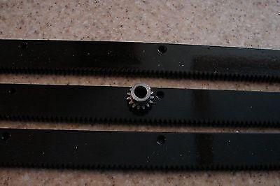 Cnc Stepper Motor Mech Rack Gear 72 Rack 3x24pcs 38 15t Pinion Gear