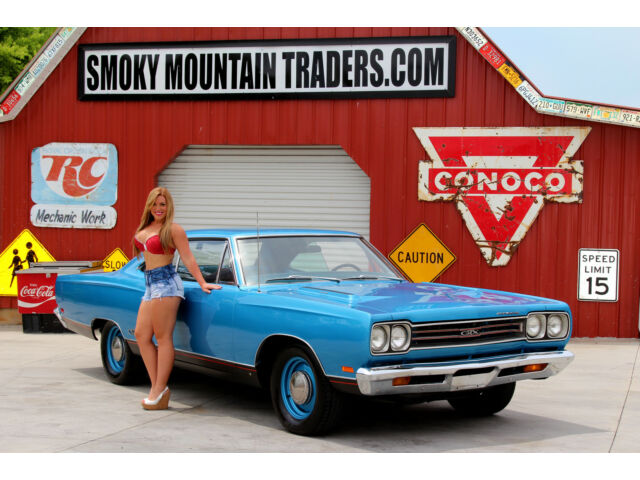 Plymouth : GTX 1969 plymouth gtx matching numbers 440 build sheets power steering auto trans