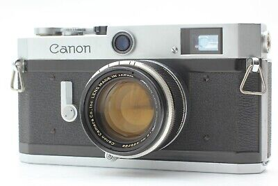 Ship by FedEx【EXC4+】 Canon P Rangefinder 35mm w/ 50mm f/1.8 L39 Lens from JAPAN