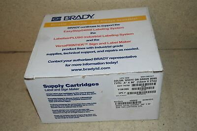 Brady White On Green B595 .5x90 Label Tape Cartridge S1