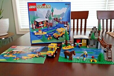 Lego 6552 Rocky River Retreat With Box & Instructions