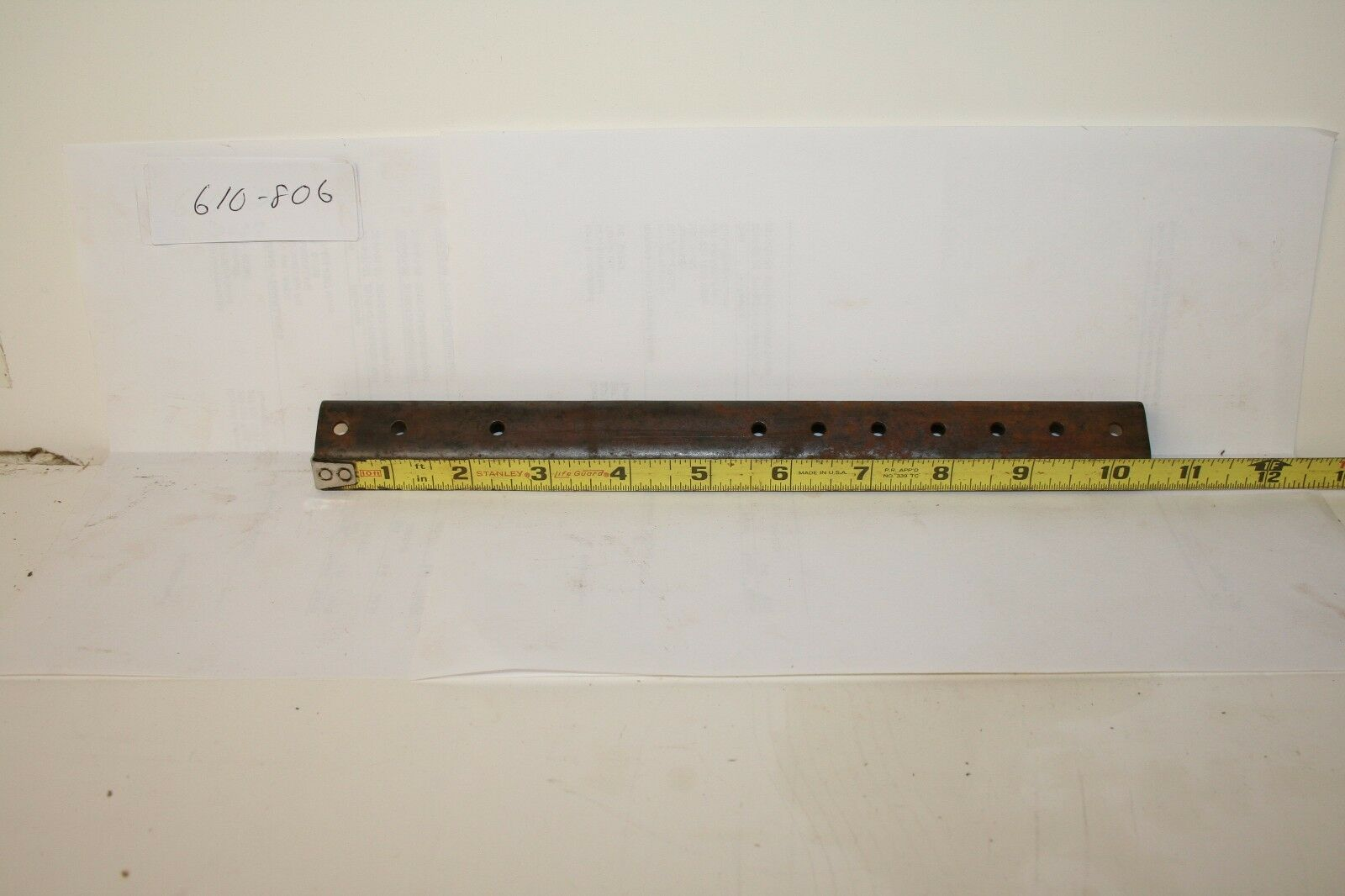 """SCORPION TRACK CLEATS, 10-1/2"""", FITS WHIP 76-79, NEW, KORONIS, SOLD IN LOTS 10"""