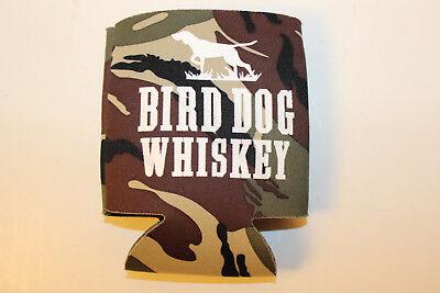 Bird dog whiskey Camouflage beer soda pop koozie/coozie camo hunting dog logo