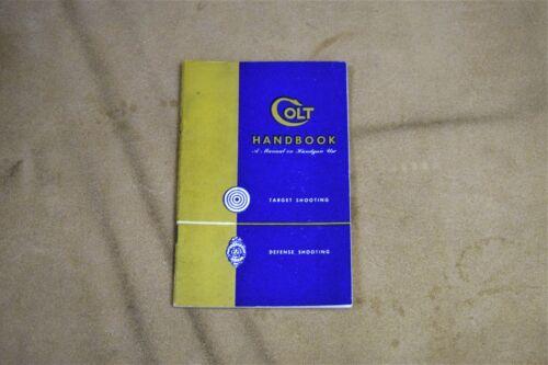 Colt Handbook 1950-60s