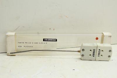 Omega Pr-13-2-100-18-6-e Rtd Quick Disconnect Probe 6inch.