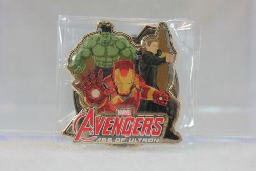 C3 Disney HKDL Hong Kong LE 500 Pin Marvel Age of Ultron Hulk Iron Man Hawkeye