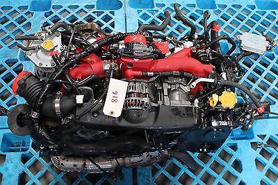 JDM Subaru Impreza WRX STI EJ207 V8 Engine Twin Scroll Turbo Engine only