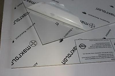 Makrolon Ar2-mr10 Lexan Clear Polycarbonate Sheet 14 X 22 X 19-14
