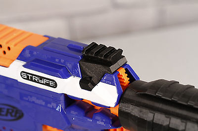 3D Printed – Picatinny Front Rail Adapter for Nerf Stryfe