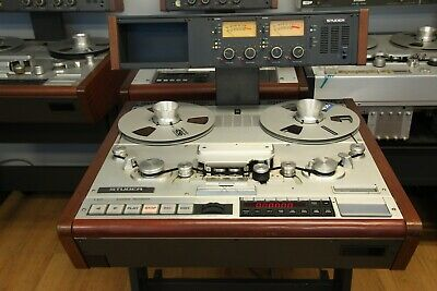 "Studer A820 1/4"" Reel To Reel Recorder in Excellent Condition"
