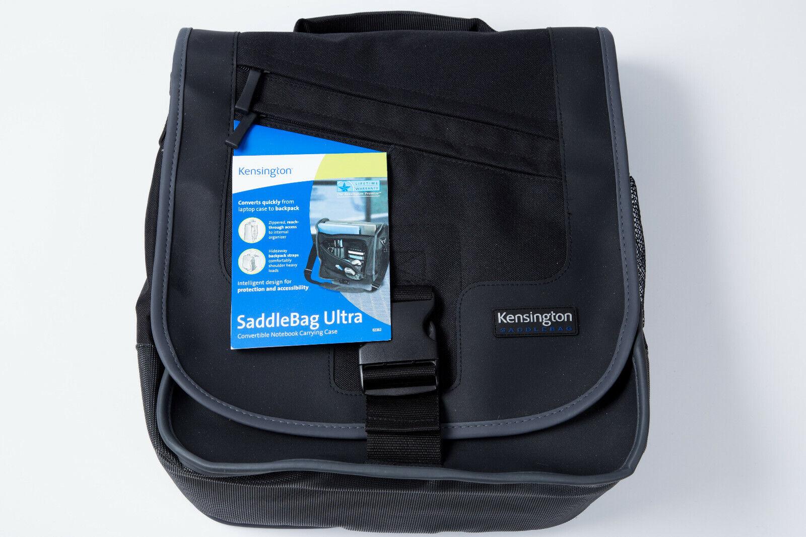 NWT - Kensington SaddleBag Ultra Convertible Notebook Carryi