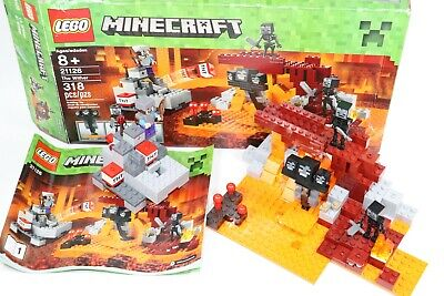 LEGO MINECRAFT 21126 THE WITHER - RETIRED - RARE - COMPLETE ALL PIECES