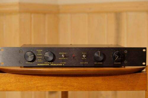 Superphon Revelation II preamp and manual