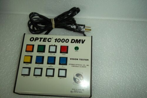 Stereo Optical OPTEC 1000 DMV Vision Tester / Screener Keypad Controller ONLY