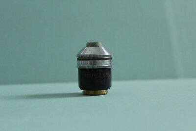 Carl Zeiss West Microscope Objective Polarising Plan 2.5 0.08 160- Oel