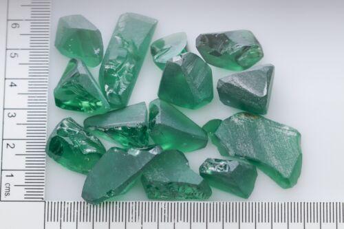 92.1gr Garnet Green Color (YAG) Lab Created Faceting Rough Stone