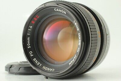 【Excellent++++】 Canon FD 50mm f/1.4 S.S.C. SSC MF Lens From Japan #00011