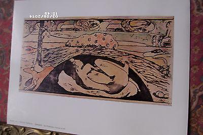 Gauguin - Manao Tupapao - 1958 The Philadelphia Museum of Art. 9 1/2 x 12 1/2..