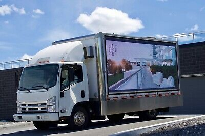 Digital Advertising Led Truck Mobile Billboard Business
