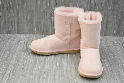UGG Kids Bailey Bow II 1017394K Boots, Big Girl's Size 6 - Pink