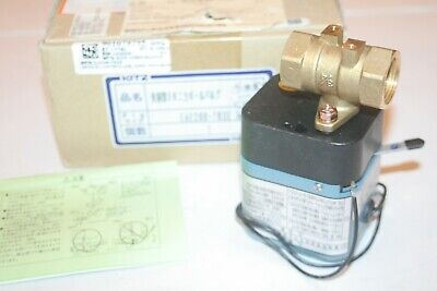Kitz Kelmo Eae200-1 Tkse 34 Electric Actuator Driven Ball Valve Controller New