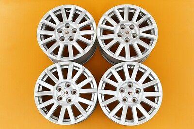 "Cadillac CTS 2010-2014 Silver 17"" OEM Set of 4 Wheels Rims 4668 #64"