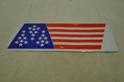 Firefighter Helmet American Flag Stickers-1 sheet